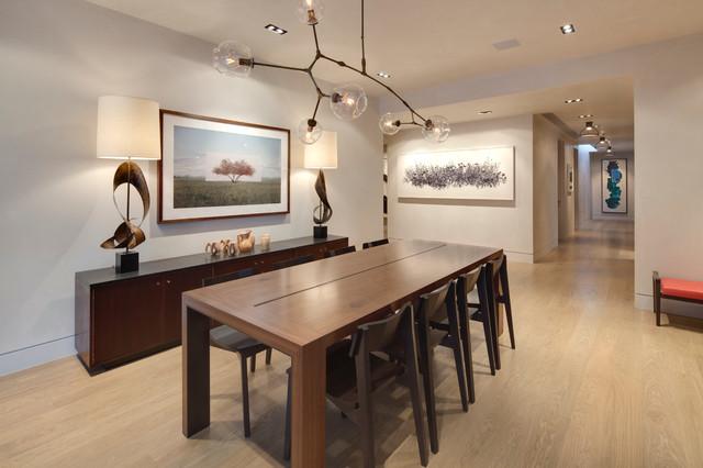 625 E. Main Street contemporary-dining-room