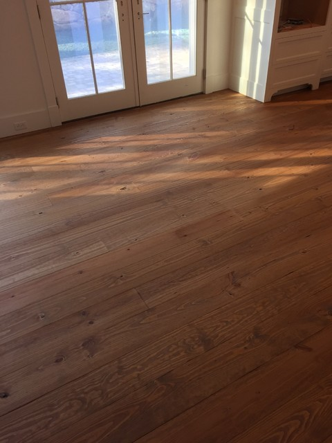 southern yellow knotty pine traditional dining room new york