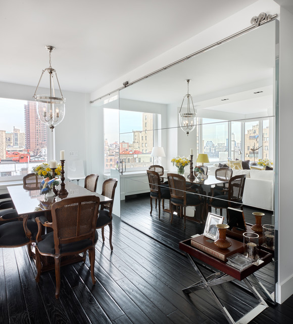 85th Street Residence transitional-dining-room