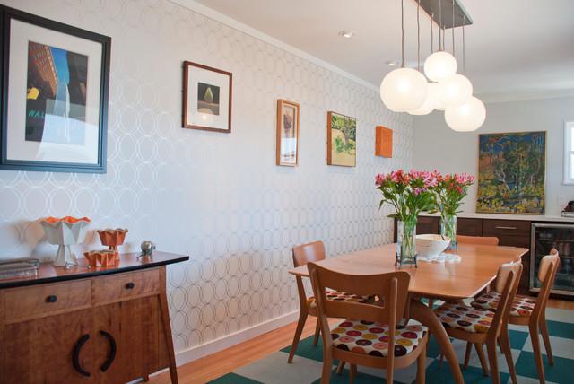 930 Stratford Midcentury Dining Room San Luis Obispo By C W Quinn Home