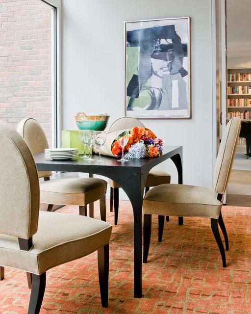 94 Harvard Sq contemporary-dining-room