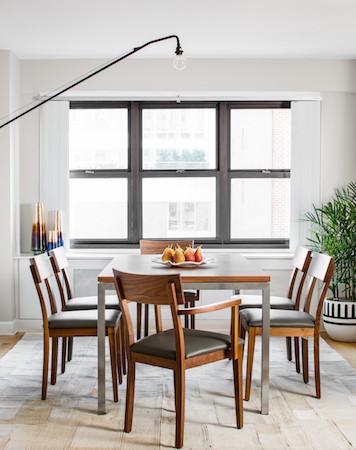 A Beachy Getaway On The Upper East Side Modern Dining Room New York B