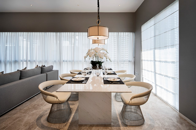 A Bespoke Dining Table contemporary-dining-room