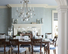 A Classic CT Home with a Modern Flair traditional dining room