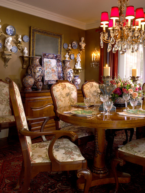 A Collector's Residence traditional-dining-room