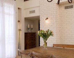 a country house mediterranean-dining-room