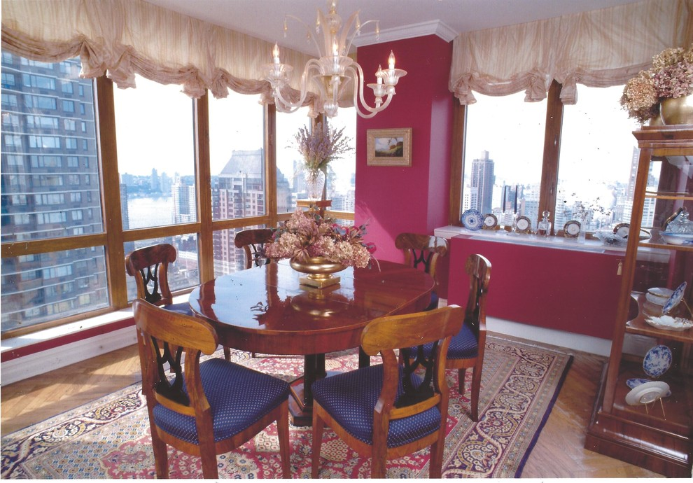Inspiration for a timeless dining room remodel in New York