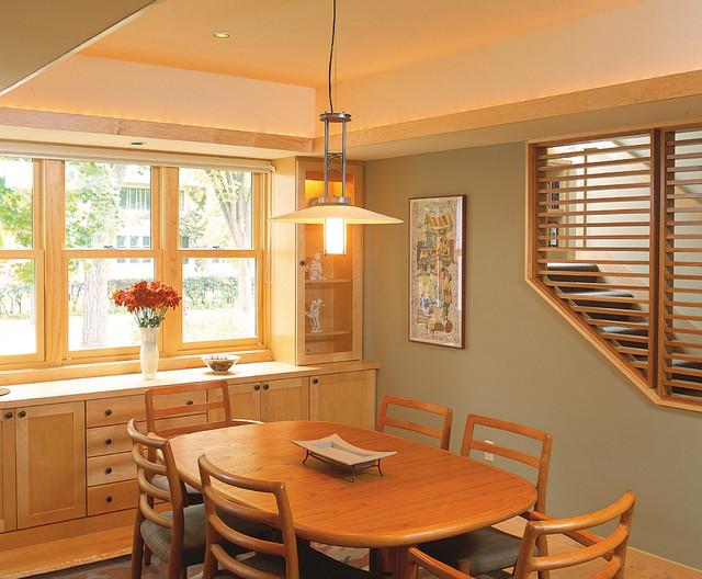 A Good Neighbor Craftsman Dining Room Minneapolis By Sarah Susanka FAIA