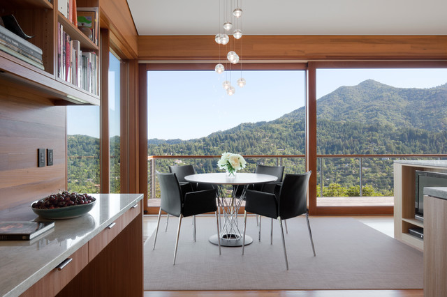 A Landscape for Living contemporary-dining-room