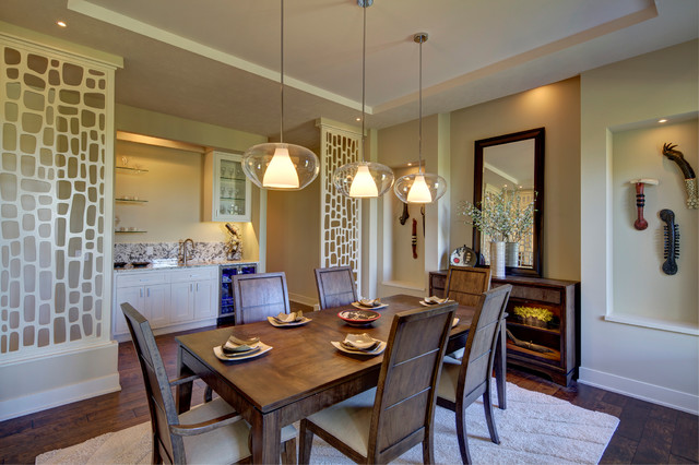 Merveilleux A Modern Family Home In Omaha   Transitional   Dining Room ...