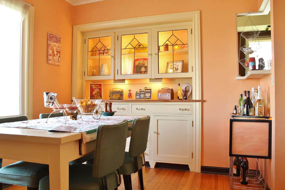 Dining room - eclectic dining room idea in Seattle