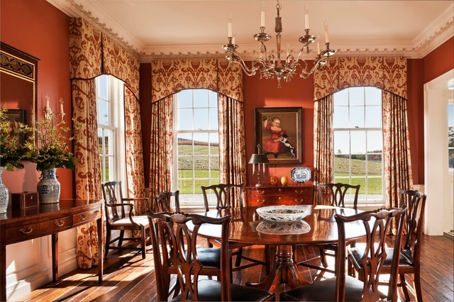 A New Farmhouse in Columbia County, New York farmhouse-dining-room