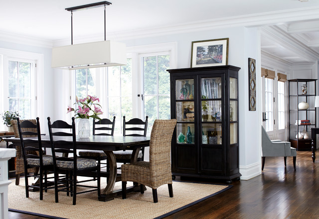A new home in the New York Suburbs traditional-dining-room