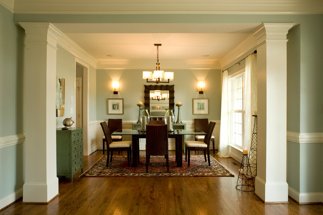 A Niblock Home traditional-dining-room