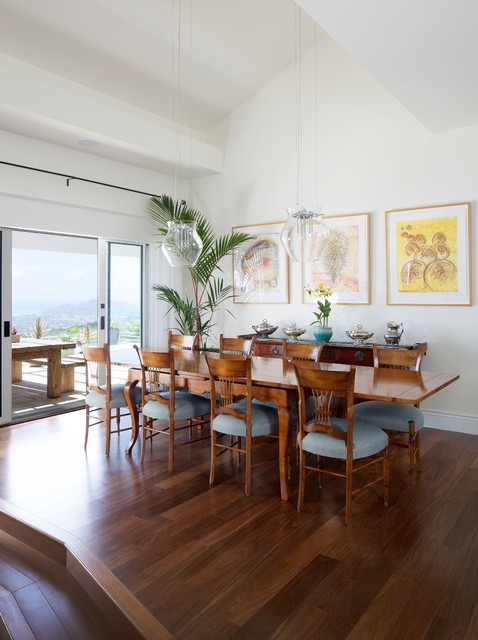 A pristine paradise tropical dining room hawaii by for Pristine garden rooms