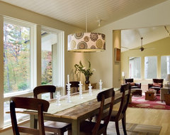 A Ranch Re-dressing Hanover NH contemporary dining room
