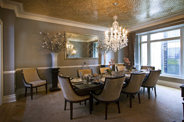 A. Rejeanne Interiors Portfolio contemporary dining room