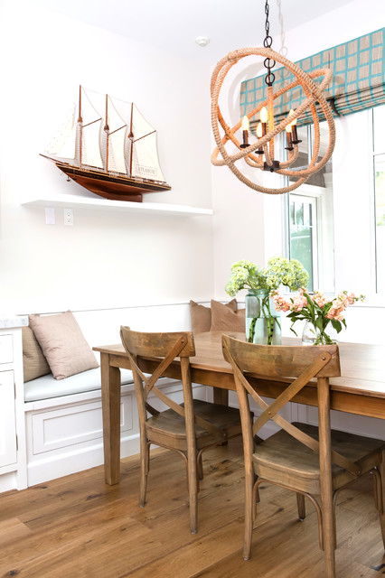 ... Beach Style - Dining Room - Los Angeles - by Erika Bierman Photography