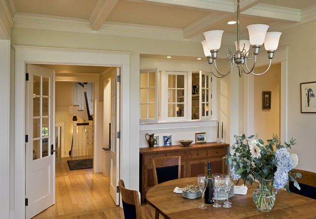 A Shingle Style House Hanover NH Victorian Dining Room