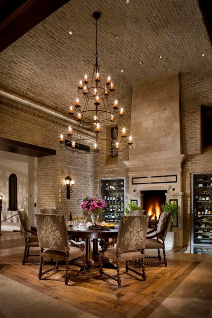 Spanish Revival/ Spanish Colonial - Mediterranean - Dining Room ...
