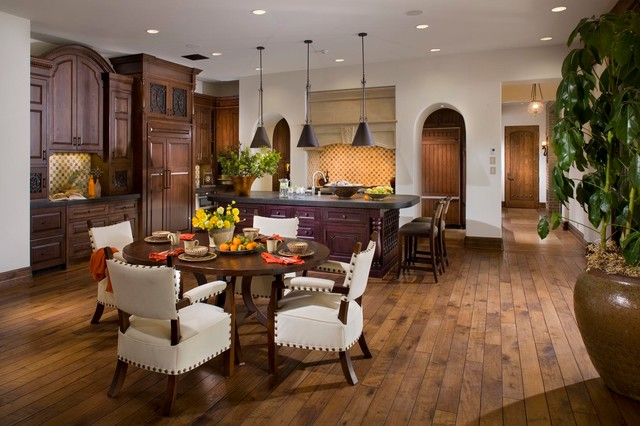 spanish style dining room furniture | A Spanish Revival/ Spanish Colonial - Mediterranean ...