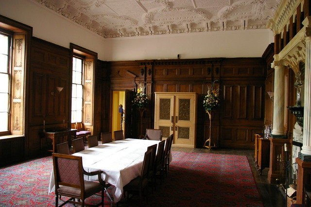 a stately home restoration traditional dining room