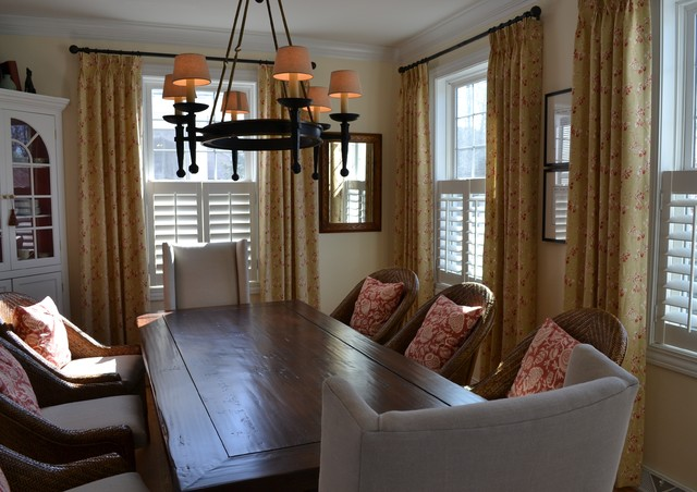 A Tarrant Drive traditional-dining-room