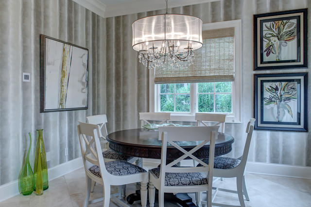 A Zest of Citron transitional-dining-room