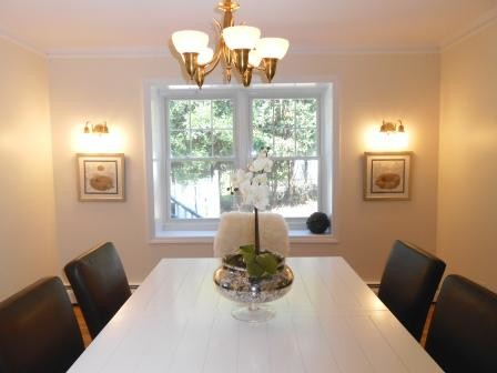 A&C Farmhouse Chic Home Staging in Trumbull, CT farmhouse-dining-room
