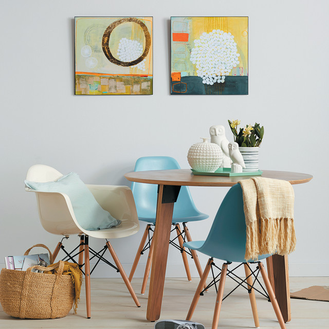 Abstract art modern dining room san francisco by for Abstract art for dining room