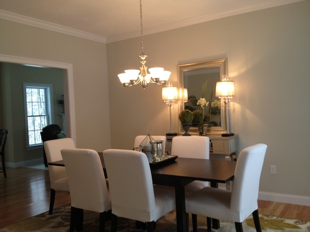 Academy Hill Expanded Essex Model Dining Room Contemporary Dining Room Boston