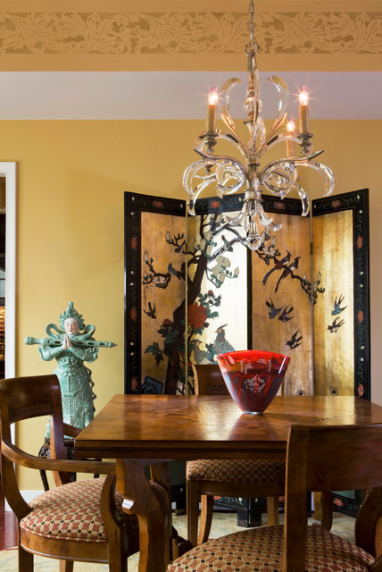 Accent your style asian-dining-room