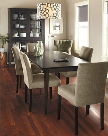 adams dining table by r b modern dining room other ForRoom And Board Dining Table