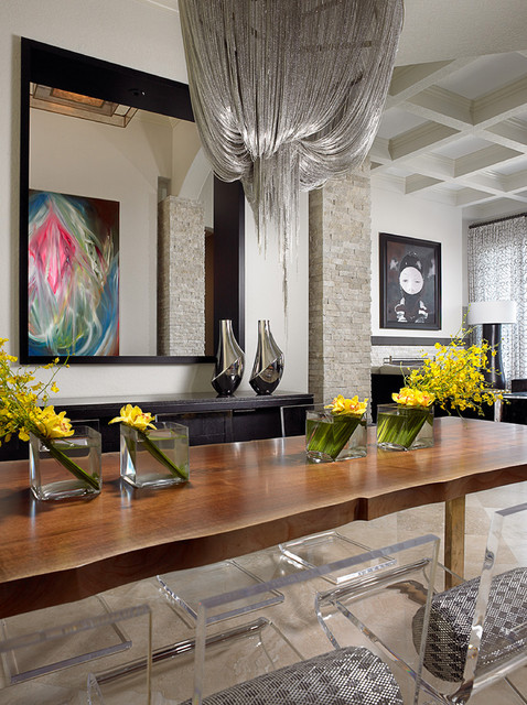 Addison Reserve 1 - Delray Beach, FL Residence contemporary-dining-room