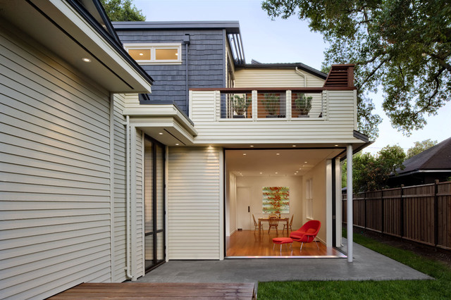 Addition/Remodel of Historic House in Palo Alto contemporary-dining-room