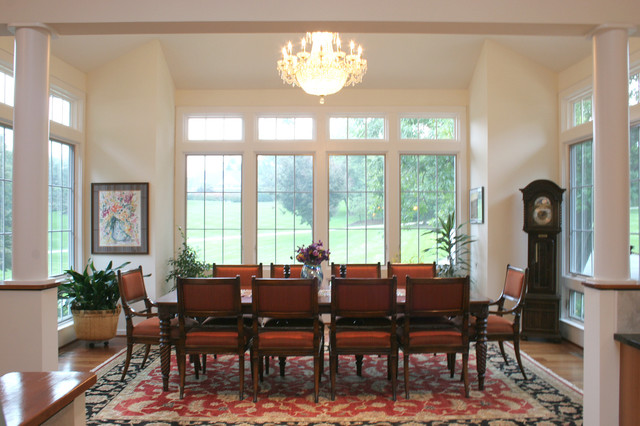 Additions traditional dining room baltimore by the baywood design build group inc - Dining room additions ...