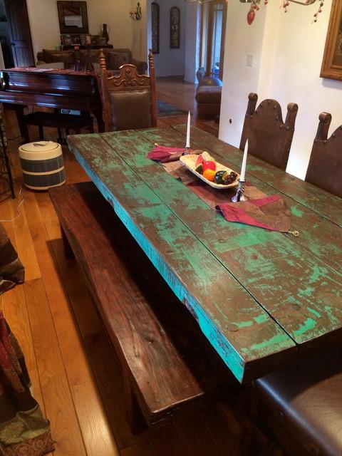 adobe house las posas estates southwestern dining