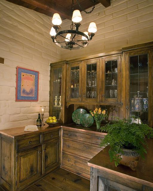 Adobe Ranch traditional-dining-room
