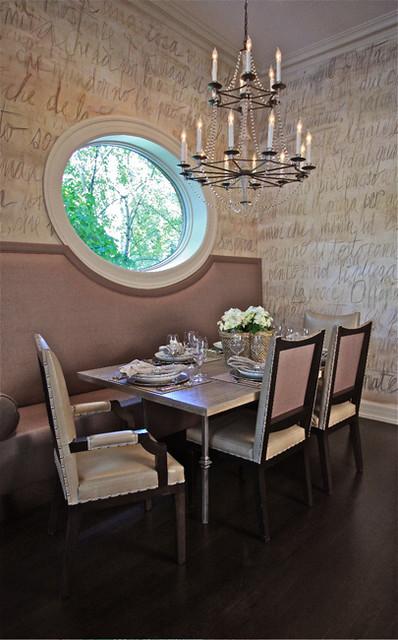 AFTER: Kitchen Banquet Burling Street transitional-dining-room