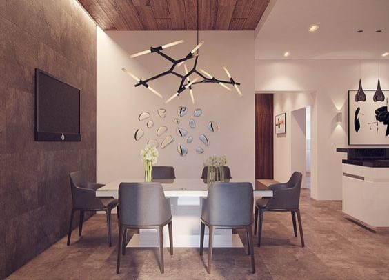 Agnes 18 Light Chandelier By Lindsey Adelman Contemporary Dining Room