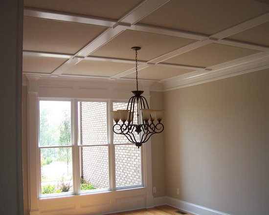 Coffered Ceiling Dining Design Ideas Pictures Remodel And Decor