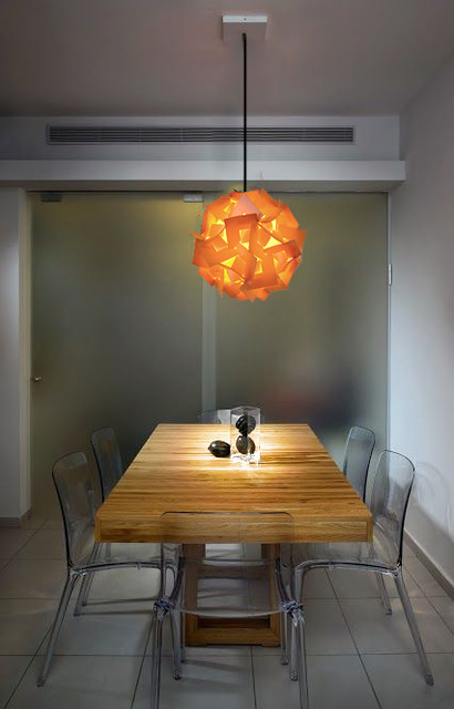 Akari Lanterns Contemporary Dining Room Phoenix By Akari