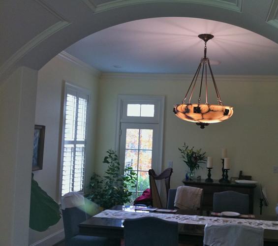 Alabaster Inverted Dome