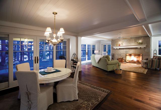 Alder Lake Cottage 1 traditional-dining-room