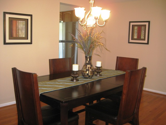 Alexandria vacant staging traditional dining room dc for The dining room leigh
