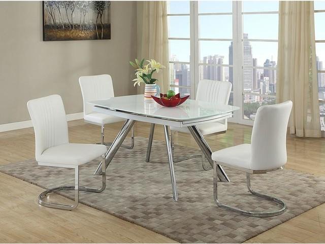 Alina White - Dining Room - Miami - by El Dorado Furniture