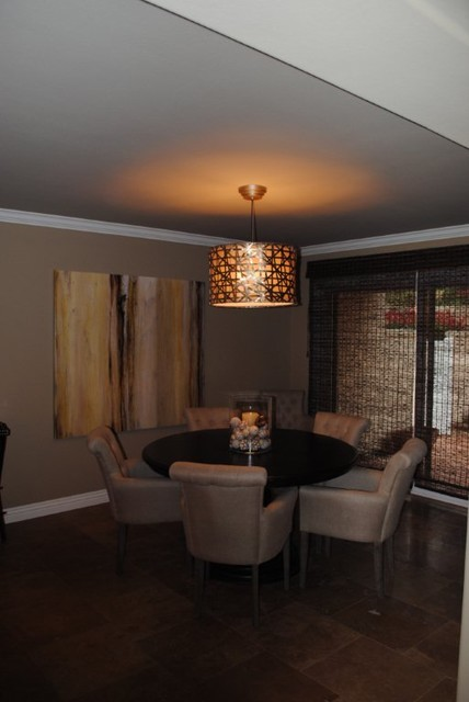 Aliso Viejo Townhouse-After contemporary-dining-room