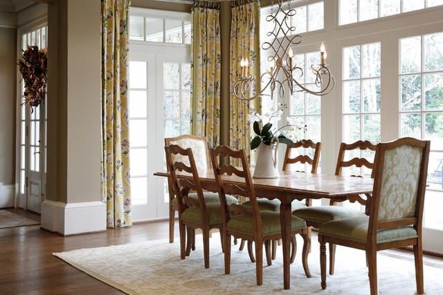 Allegro Interior Design Traditional Dining Room Atlanta By Barbara Br