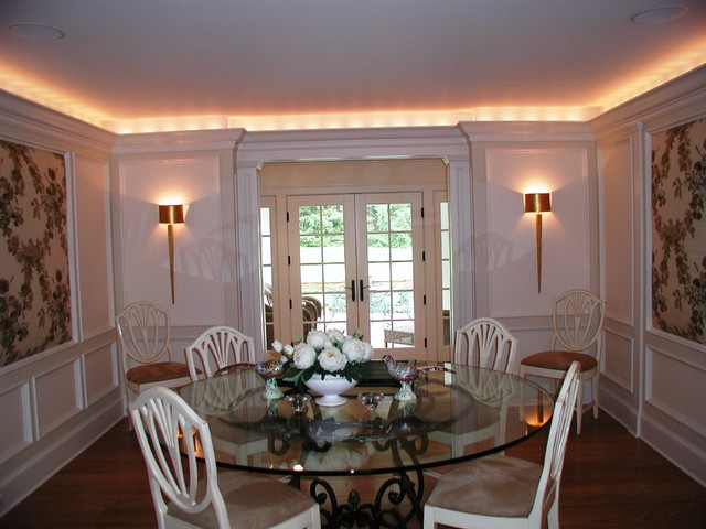 Alterations and Additions to home in Harding NJ eclectic-dining-room