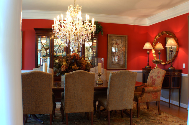 traditional dining room by AB HOME Interiors